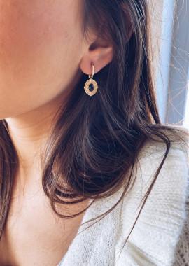 Boucles d'oreilles Frida doré