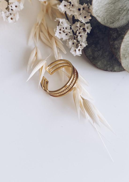 Golden Pelo ring