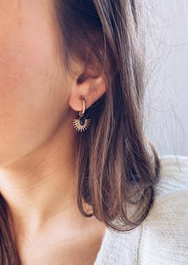 Boucles d'oreilles Liam doré