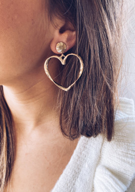 Golden Biba earrings
