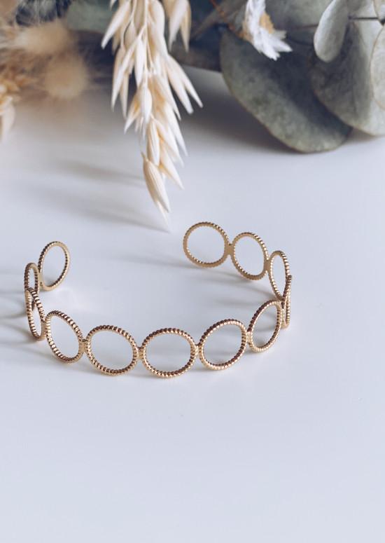 Bracelet Safi doré