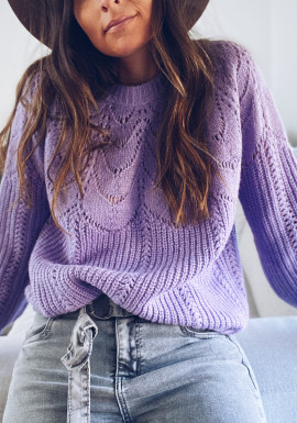 Purple June sweater