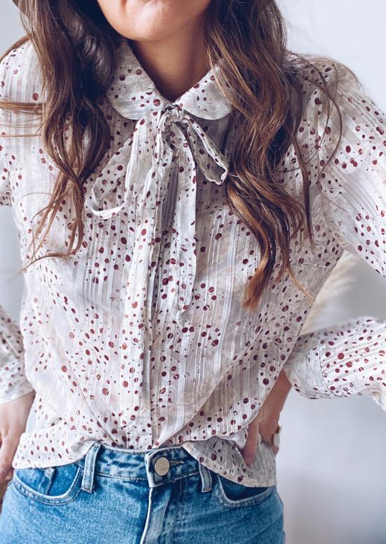 Polka Amela blouse