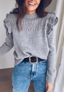 Grey Destine sweater