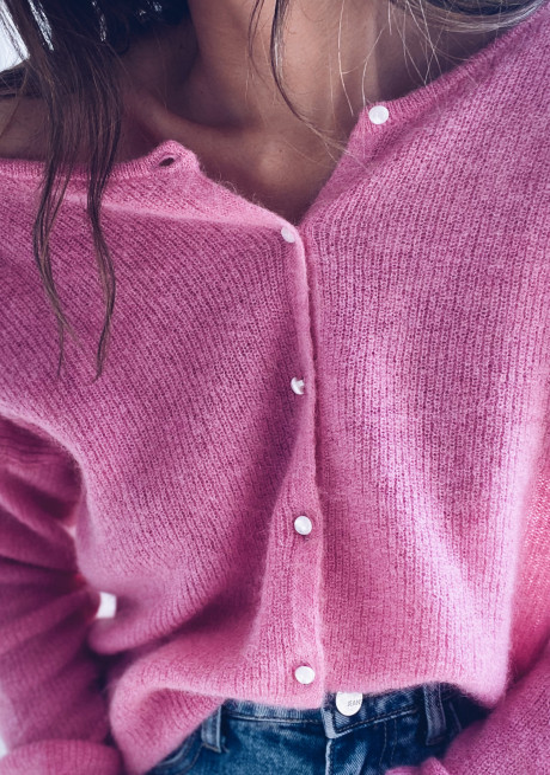 Pink Aurane sweater