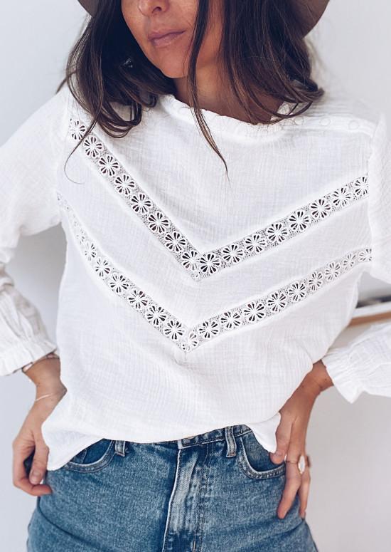 White Emori blouse