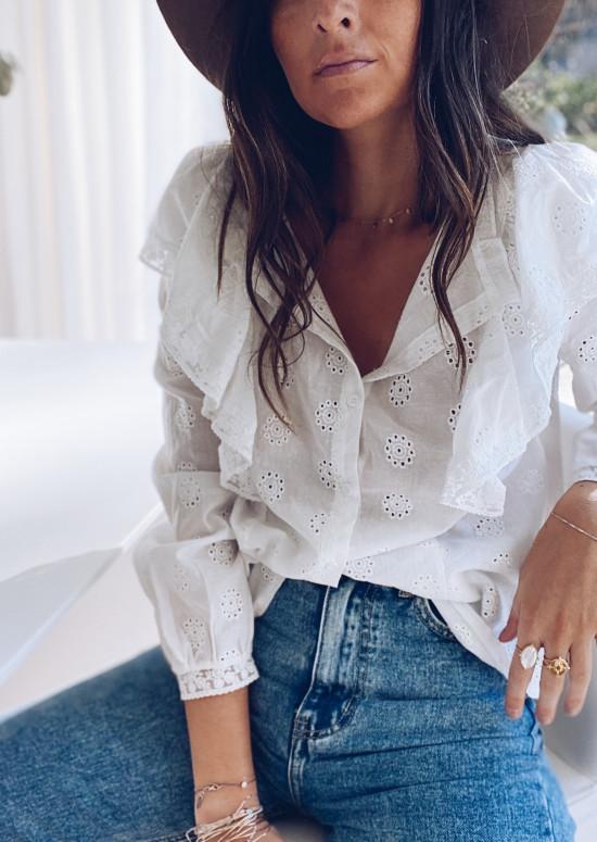 White Ciara blouse