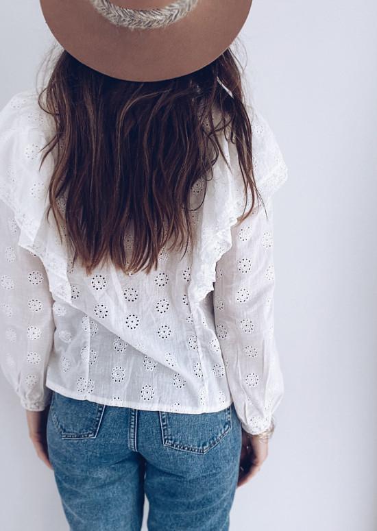 Blouse Ciara blanche