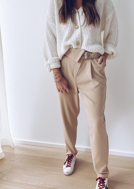 Pantalon Marlo beige