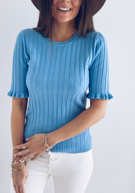 Blue Abby sweater