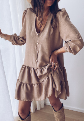 Beige Arista dress