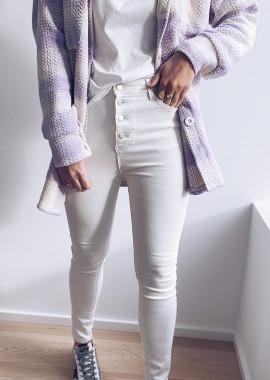 Jeans Zora blanc