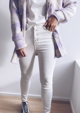 White Zora jeans
