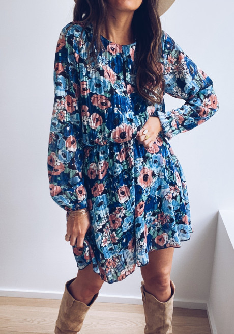 Cilli dress with flowers