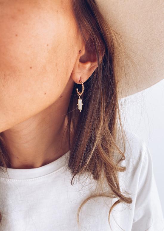 Boucles d'oreilles Aifa doré