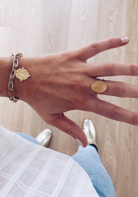 Golden Rosia ring