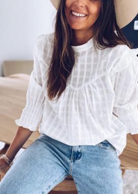 White Donata blouse