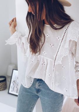 White Toya blouse