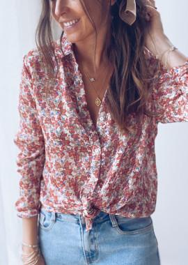Chemise Lanna à fleurs