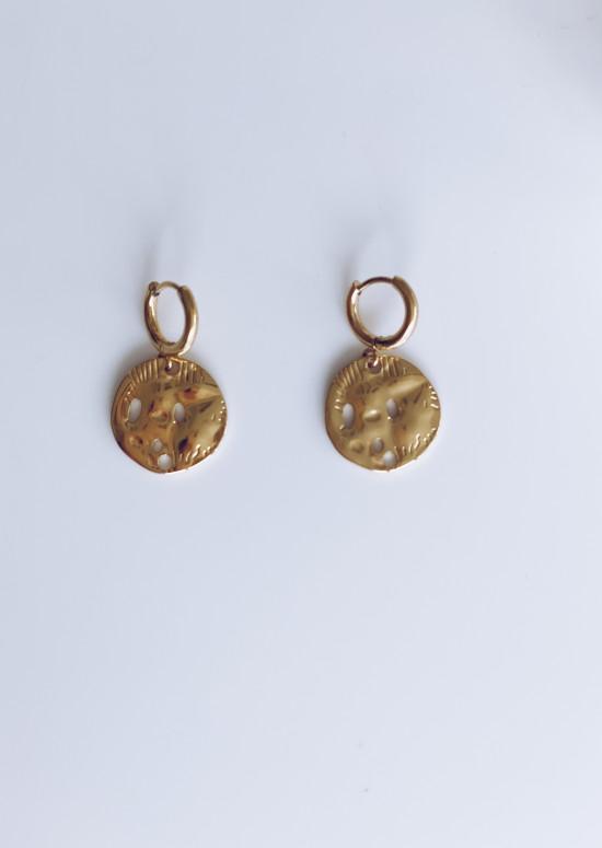 Golden Noa earrings