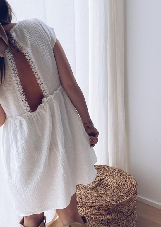 White Leonara dress