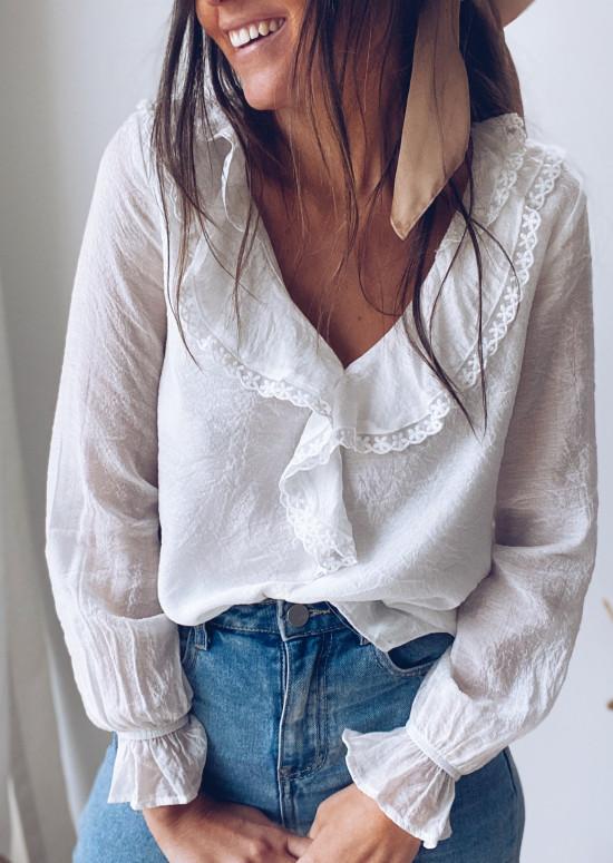 White Swen blouse