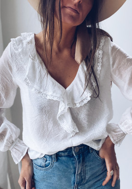 White Swen blouse