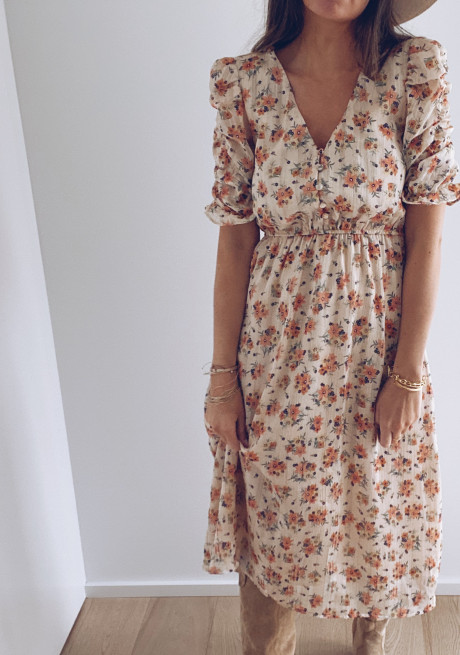 Andreas floral dress