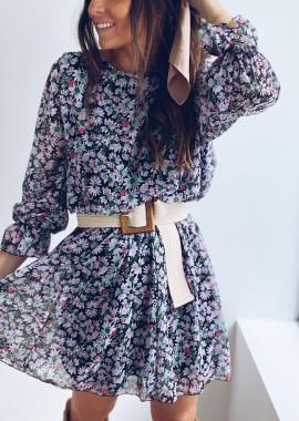 Robe Amandine à fleurs