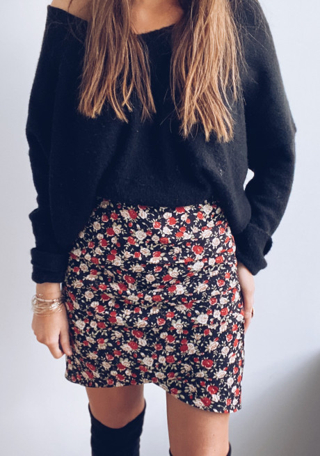 Sidonie skirt with flowers
