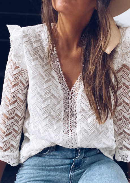 White Maelys blouse
