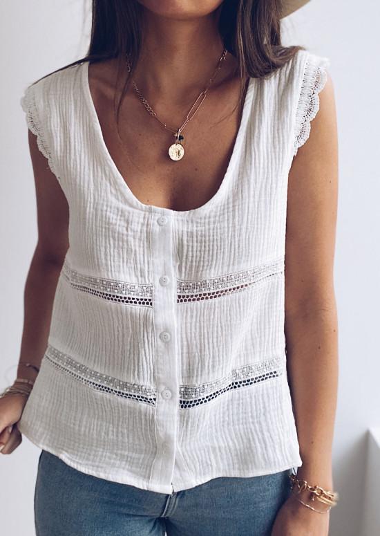 White Anette blouse