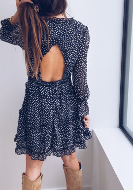 Black Clarence dress