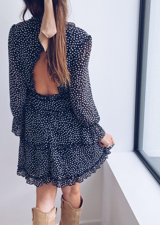 Black Clarence dress