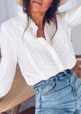 White Nolwenn shirt