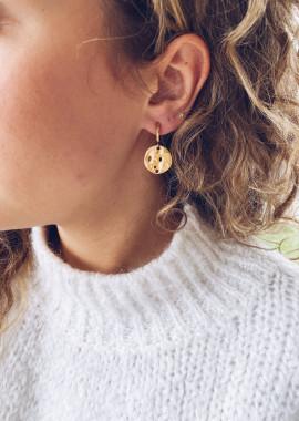 Boucles d'oreilles Noa doré