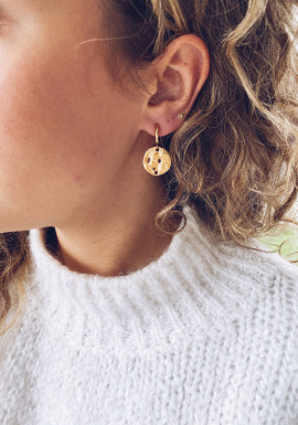 Golden Noa earrings