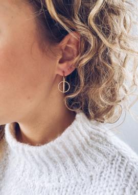 Boucles d'oreilles Ola doré