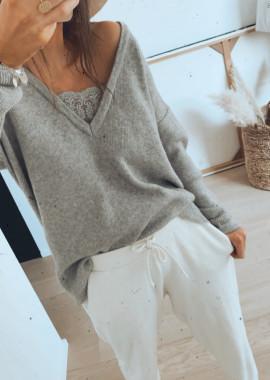 Grey Pullover Rachel