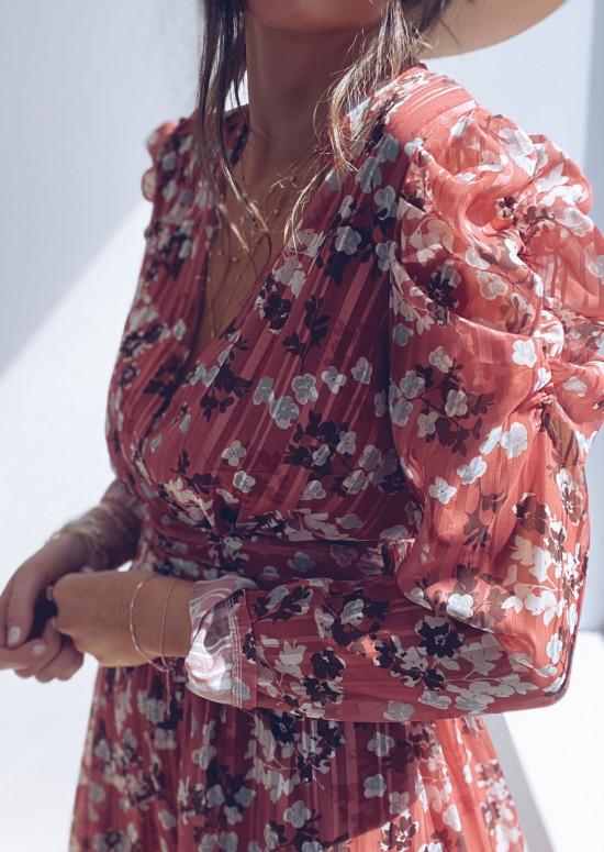 Robe Melora à fleurs