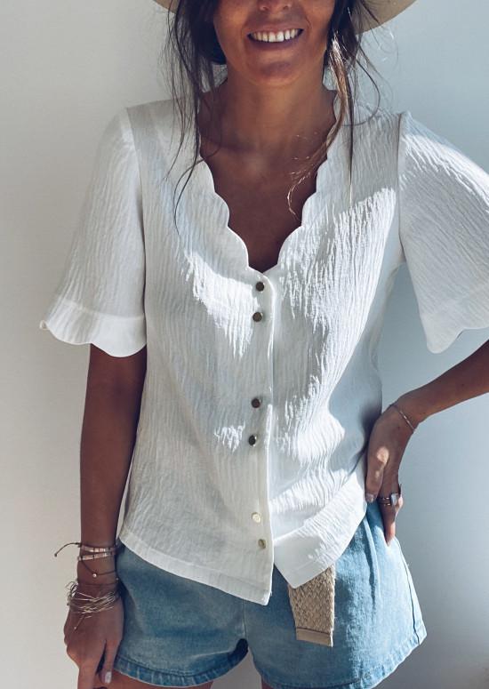 White Kathy blouse