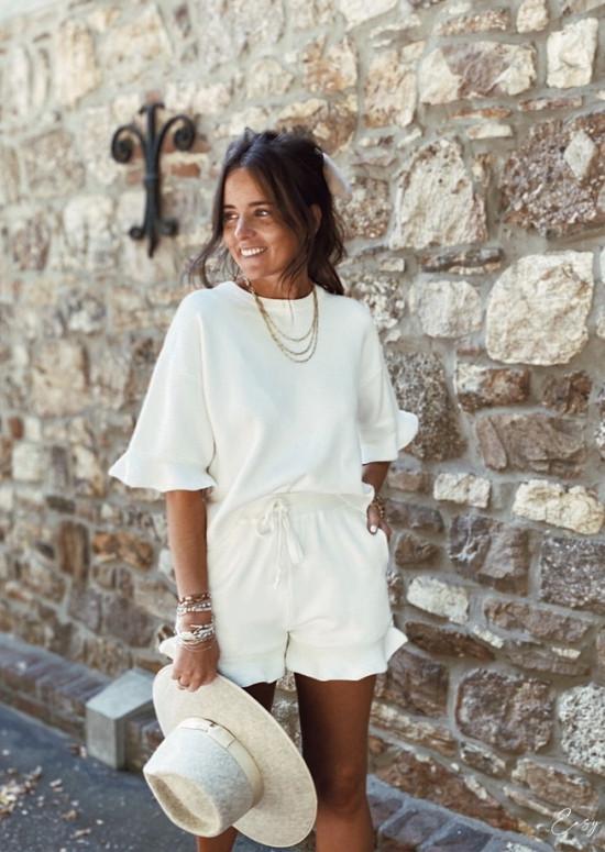 Ecru Homewear set Cloé