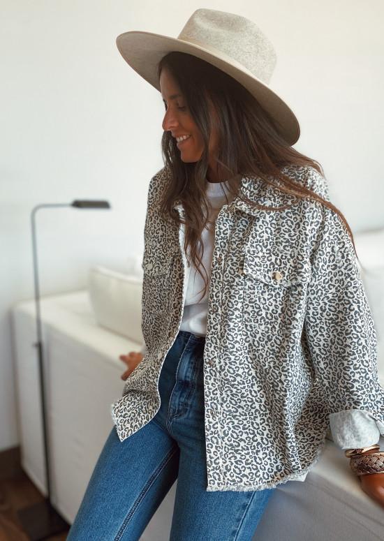 Veste Tess léopard