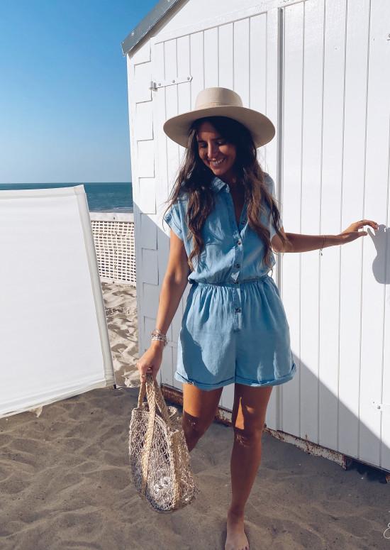 Blue jeans Amira jumpsuit