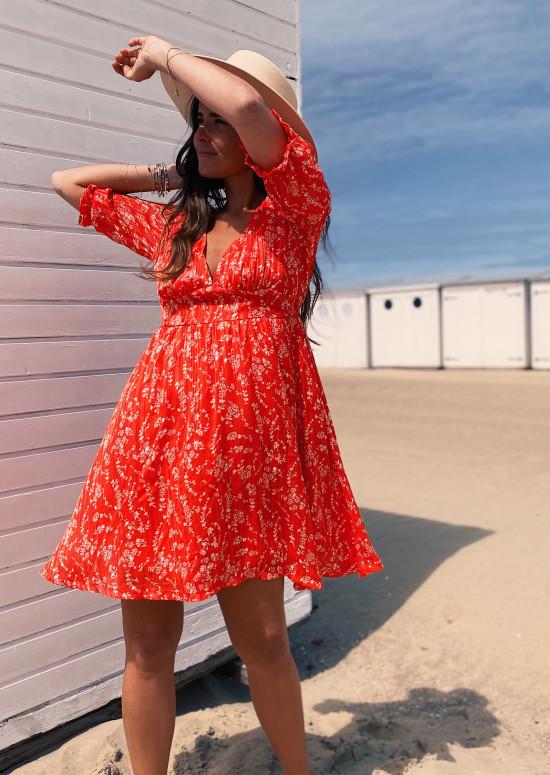 Red Gwen dress