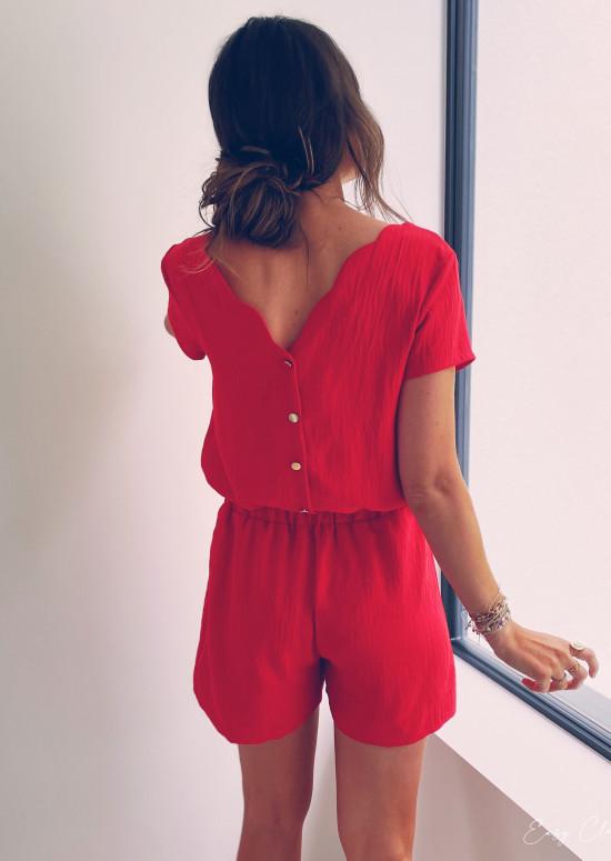 Red Malga jumpsuit