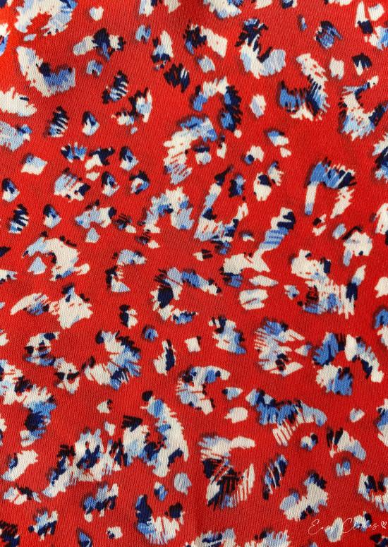 Red Milou jumpsuit