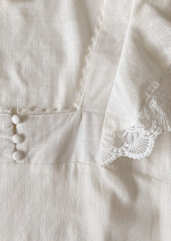 Blouse Noela blanc