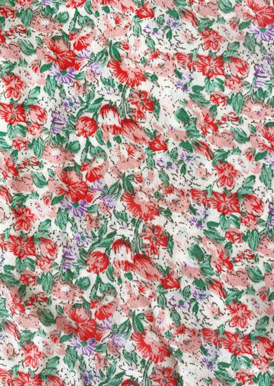Top Ophélie à fleurs