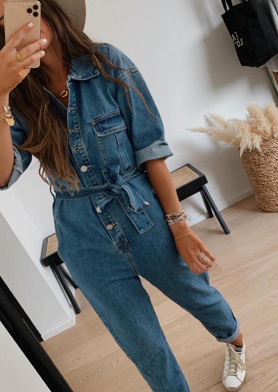 Combinaison en jeans Denyse
